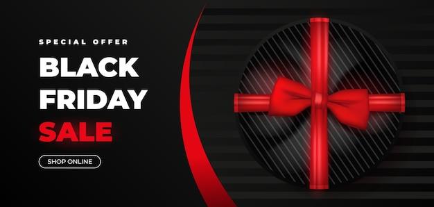 Concepto de diseño web de viernes negro.