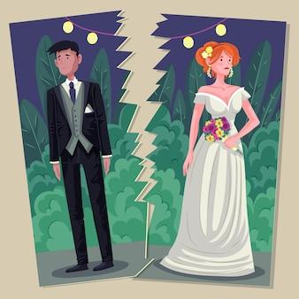 Concepto de divorcio
