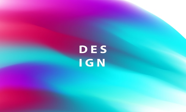 Concepto de ecología de fondo degradado líquido colorido abstracto para su diseño gráfico,