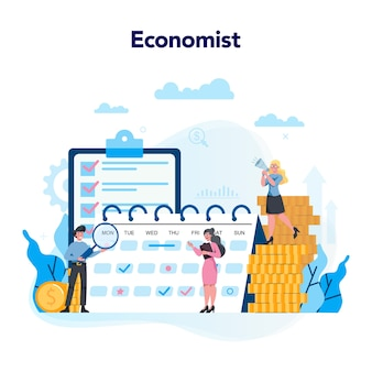 Concepto de economistas