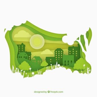 Concepto del ecosistema
