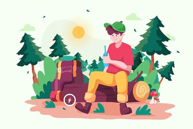 Concepto de ecoturismo