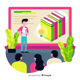 Concepto de educación online