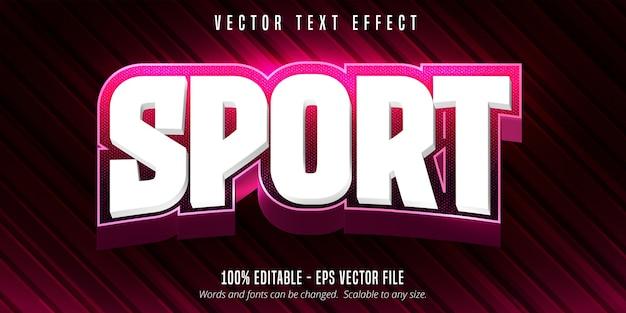Concepto de efecto de texto editable