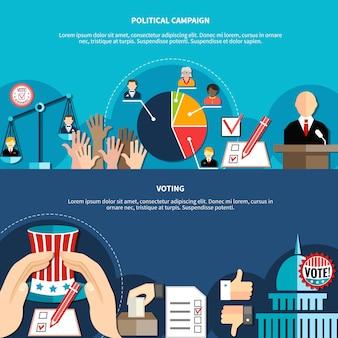 Concepto de elecciones gubernamentales