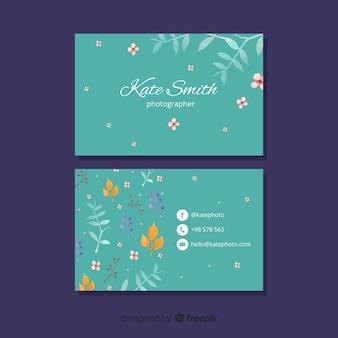 Concepto elegante para plantilla de tarjeta de visita