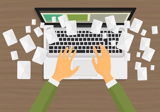 Concepto de email marketing