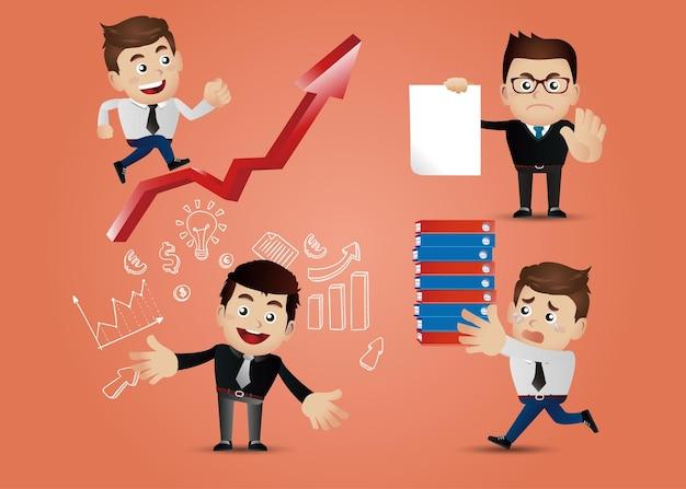 Concepto de empresario
