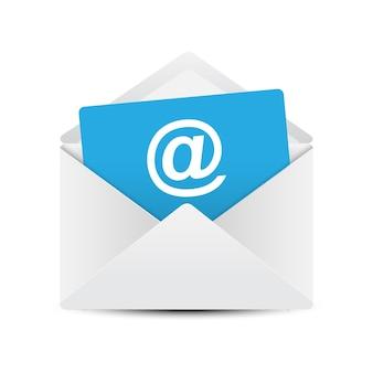 Concepto de envolvente de correo electrónico