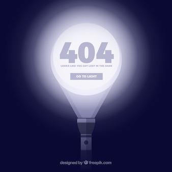 Concepto de error 404
