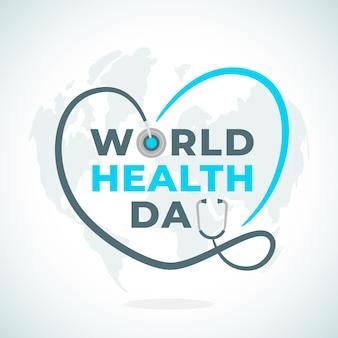 Concepto de evento del día mundial de la salud