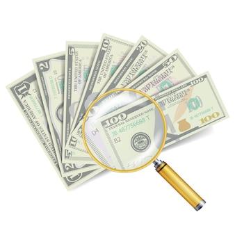 Concepto de éxito financiero