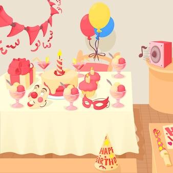 Concepto de feliz cumpleaños