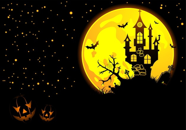 Concepto de feliz halloween