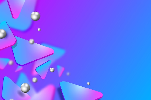 Concepto de fondo 3d
