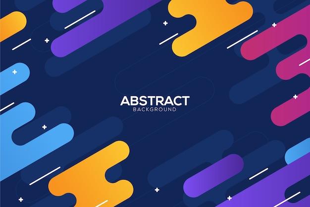 Concepto de fondo abstracto colorido