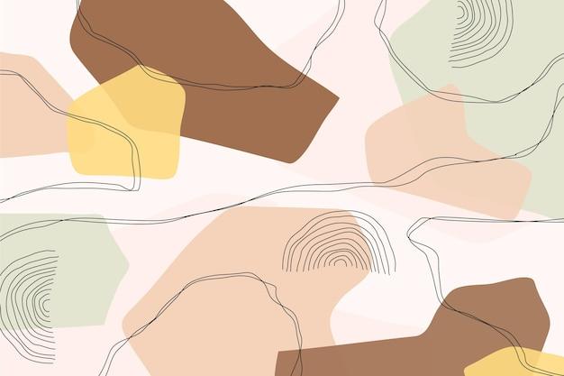 Concepto de fondo abstracto pastel