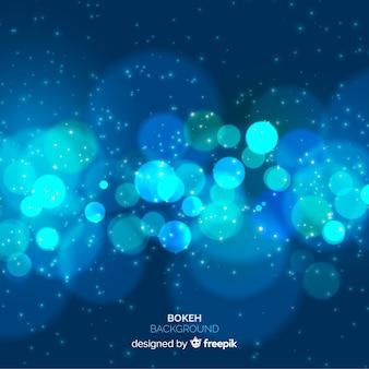 Concepto de fondo azul borroso