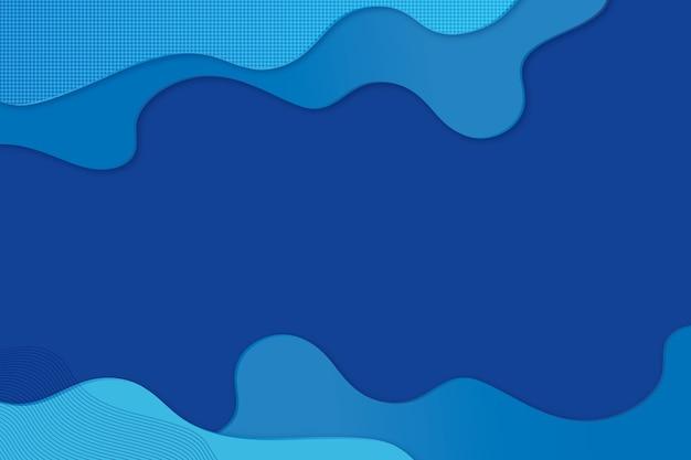 Concepto de fondo azul clásico abstracto