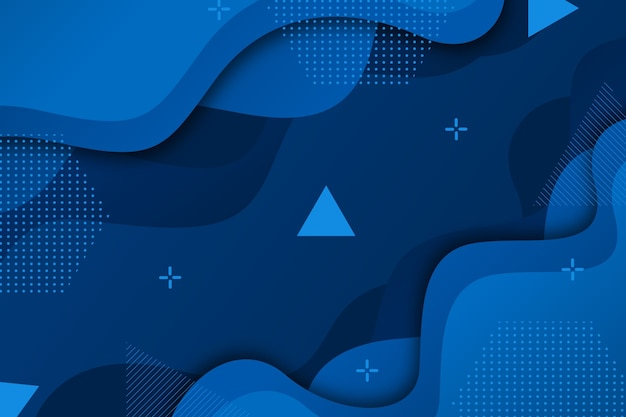 Concepto de fondo azul clásico