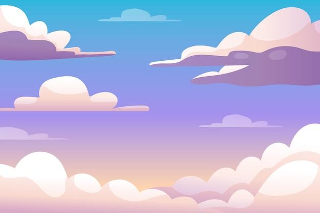 Concepto de fondo de cielo