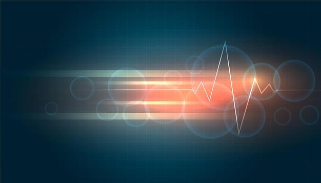 Concepto de fondo de ciencia médica y salud