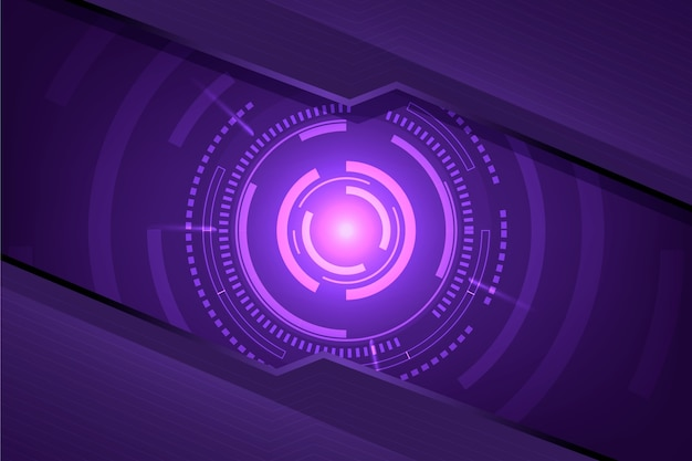 Concepto de fondo de innovación futurista