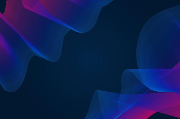 Concepto de fondo de pantalla ondulado oscuro