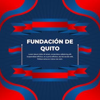 Concepto fundación de quito