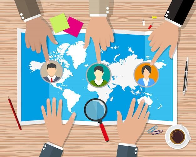 Concepto de gestión de recursos humanos