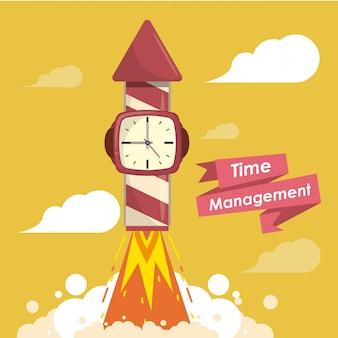 Concepto de gestión del tiempo