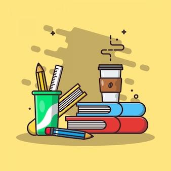 Concepto icono educación blanco aislado