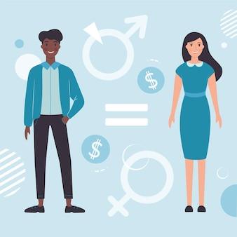 Concepto de igualdad de género
