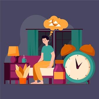 Concepto de insomnio