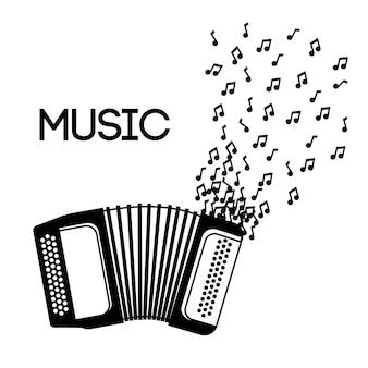 Concepto de instrumento de música