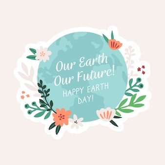 Concepto internacional del día de la madre tierra