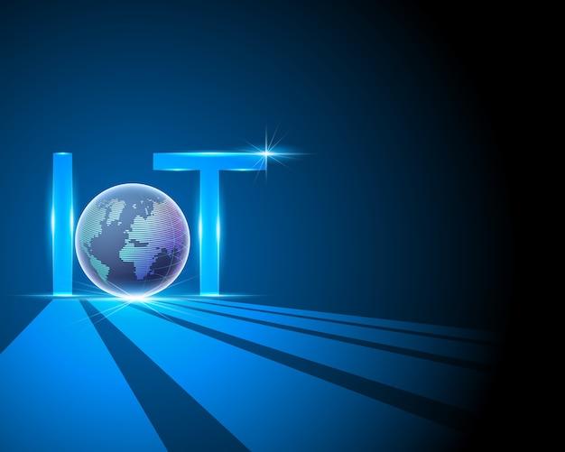 Concepto de internet de las cosas (iot)