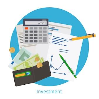 Concepto de inversión inteligente