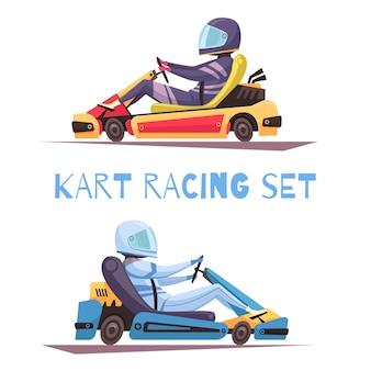 Concepto de karting