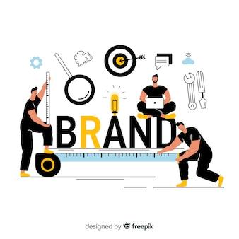 Concepto para landing page de marca