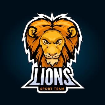 Concepto de logo de mascota