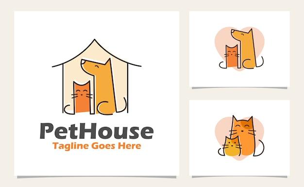 Concepto de logotipo dibujado a mano