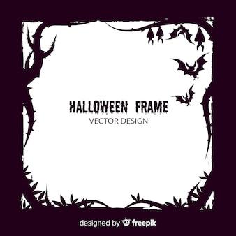 Concepto de marco de halloween