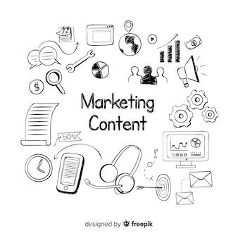 Concepto de marketing de contenidos