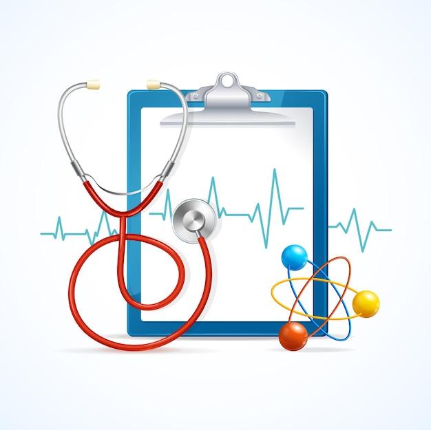 Concepto médico de salud. atención médica regular.