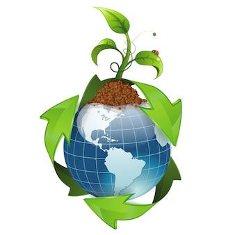 Concepto de medio ambiente y ecología