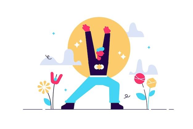 El concepto de meditación durante las horas de trabajo rompe la salud corporal, la mente y las emociones, el proceso de pensamiento