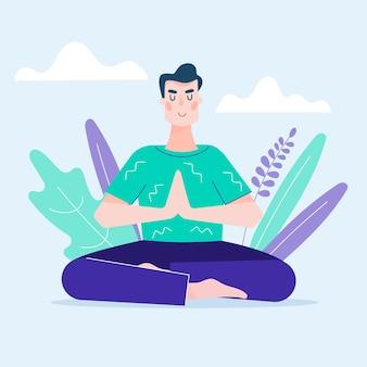 Concepto de meditación