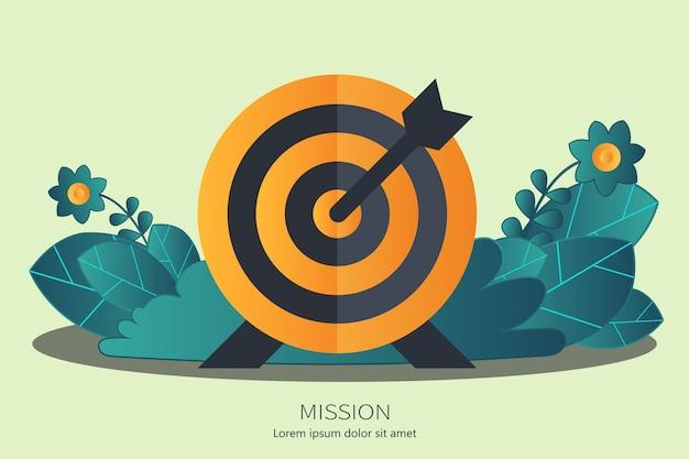 Concepto de misión empresarial