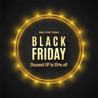 Concepto moderno de venta de viernes negro